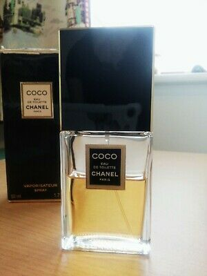 Chanel COCO eau de toilette. 50ml bottle. used. At least half a bottle left.