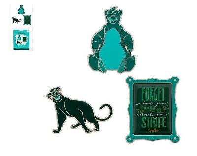 DISNEY BALOO WISDOM Limited Edition Pin Set 3/12 March SOLD OUT 1' NEW