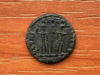 Constantine the Great 308-337 AD AE Follis Roman Legion Ancient Roman Coin