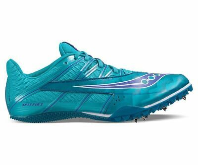 Saucony Spitfire 4 Womens Shoes Teal/Blue