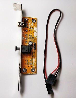 ASUS Motherboard SPDIF Optical RCA Out Audio Riser Plate Bracket Output Module