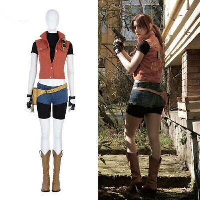 Newest Resident Evil 7 Biohazard Claire Redfield Cosplay