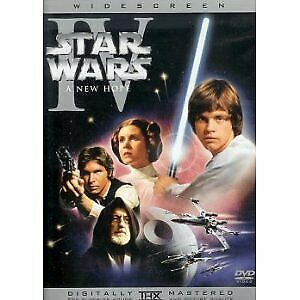 Star Wars (A New Hope - Episode Iv Dvd Sealed + Free Post)