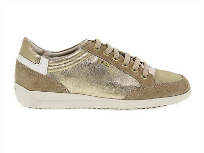 9c26e2a0bdca2 SCARPE 159694 GEOX SNEAKERS DONNA ORO Shoes - EUR 123