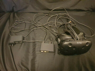 HTC Vive VR Headset and Link Box