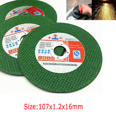 "10/25pcs 4"" Ultra Thin Resin Cutting Disc Cut-Off Wheels For Metal Angle Grinder"