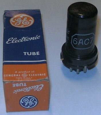 6AC7 electronic tube (General Electric)