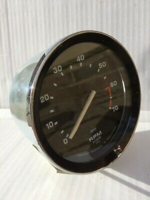 Smiths Triumph Spitfire Stag 2000 Tachometer/Rev Counter Calibrate Any Cylinders