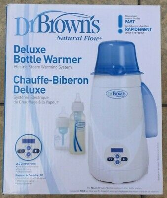 Dr Brown's Deluxe Baby Bottle Warmer Model 850 Electric Steaming NEW in Open Box