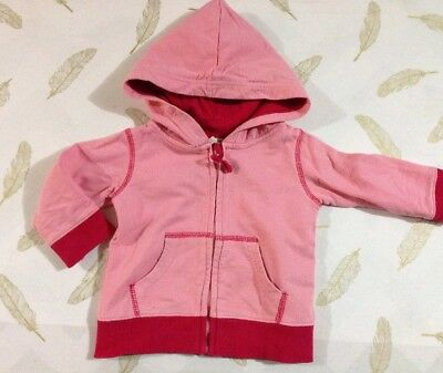 Cotton On Baby Girls Hooded Jumper 6-12 Months 0