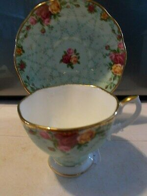 Royal Albert Old Counrty Roses ( Peppermint Damask)