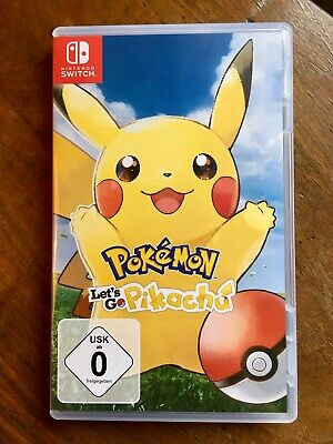 Pokemon: Lets go Pikachu [Nintendo Switch] [Neuwertig]