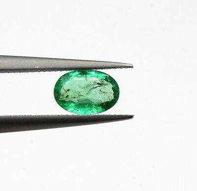 0.53 Ct 100% Natural Emerald Loose Octagon Cut Ethiopian For Ring