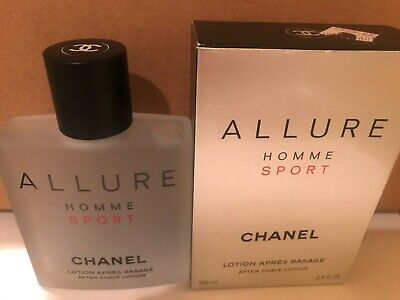 b9981fc5d625 CHANEL ALLURE HOMME Sport After Shave Lotion 3.4 oz new in box ...