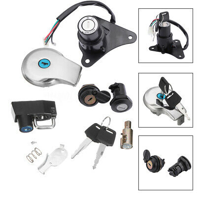 Ignition Switch Lock & Fuel Gas Cap Key Set para Yamaha Virago XV125 XV250,