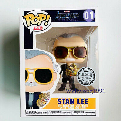 Funko POP Stan Lee Marvel Father Vinyl Figure Toy Collection China Version