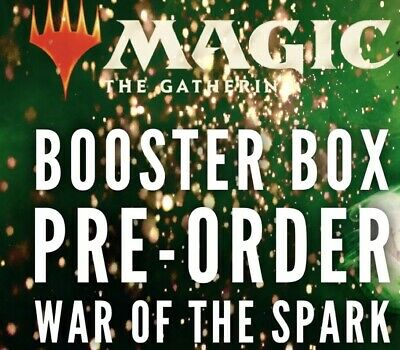Magic MTG War Of The Spark Factory Sealed Booster Box PREORDER