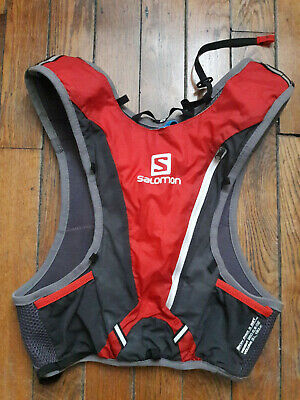 Gilet trail salomon skin pro 3 set / hydratation bag