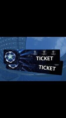 Champions League Finale 2019 Madrid - Kategorie 1—-1 von 4 Tickets.   01.06.19