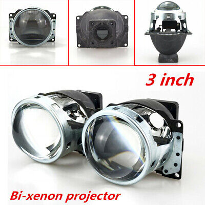2pcs 3 Bi Xenon Projector Lens Lhd For Car Headlight Q5 D1s D2s D2h