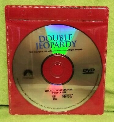 Double Jeopardy (DVD, 2000) Ashley Judd, Tommy Lee Jones - DISC ONLY - NO CASE