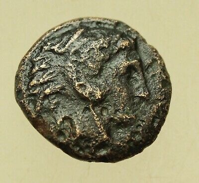 KINGS OF MACEDON. Alexander III 'the Great' (336-323 BC). AE18mm Hercules Bow