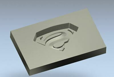 SUPERMAN  Cast Iron Steel Mold  for Casting Gold, Silver, Copper