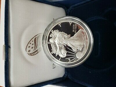 2018-S  American Eagle One Ounce Silver Proof Coin(W/box&coa