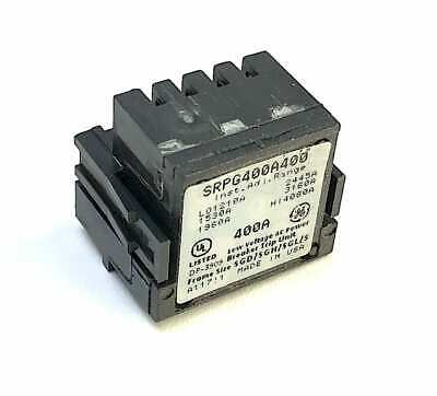 General Electric SRPG400A 400 Amp Rating Plug (Z2)