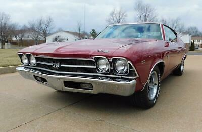 1969 Chevelle SUPER SPORT 1969 CHEVROLET CHEVELLE SUPER SPORT 396 NUMBERS MATCHING FOUR SPEED LOADED W@W!!