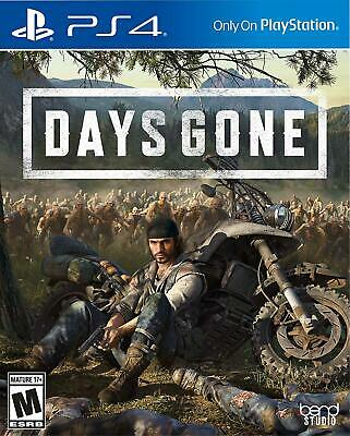 Days Gone (Sony Playstation 4) NEW Sealed Physical PS4 Exclusive Game Presale