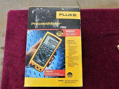 Fluke 789 *near Mint!* Process Meter In Box!  Costs A Huge $1029.95 New!