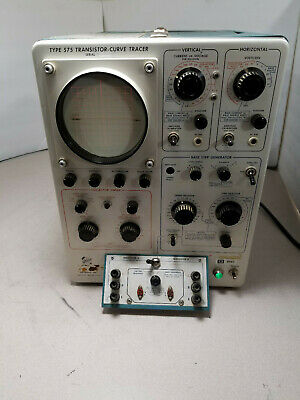 VINTAGE TEKTRONIX 575 Curve Tracer Oscilloscope As Is For Parts Repair Read