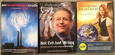 3DVDs:Al Gore:An Inconvenient Truth/Not Evil Just Wrong/Unstoppable Solar Cycles
