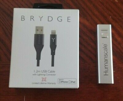 Mobile battery charger + Brydge charger cable 1.2 m, Lightning