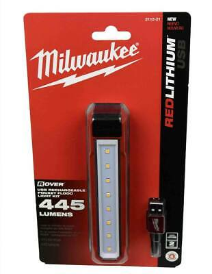 Milwaukee Rover 445L USB Rechargeable LED HD Flood Light 2112-21 Brand New