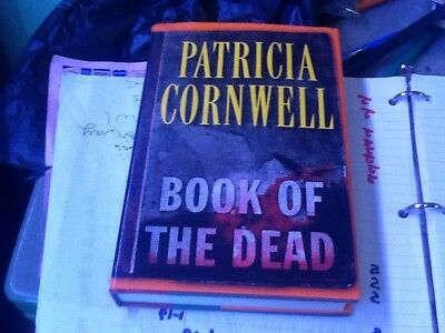 Book of the Dead by PATRICIA Cornwell, HARDCOVER