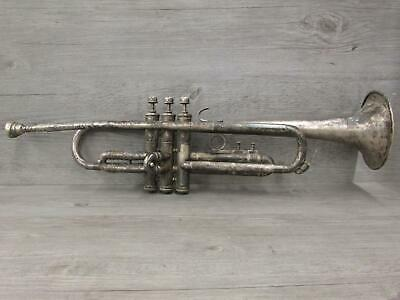 Vintage Llewellyn Model Frank Holton Silver Plated Trumpet Heim #2 Mouthpiece