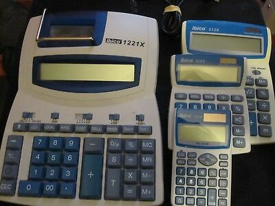 lots calculatrice ibico