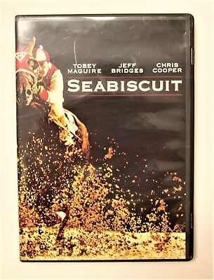 Seabiscuit (1993) Tobey Maguire Jeff Bridges DVD Region1 Like New Condition