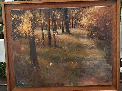 June Stratton, Listed Artist Washington And Georgia, Oil Painting