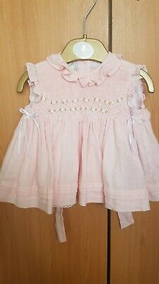 Pretty originals baby girl's smocked dress