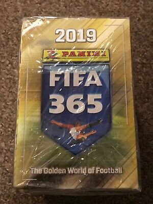 Panini FIFA 365 2019 Sticker Packs 50 FULL BOX