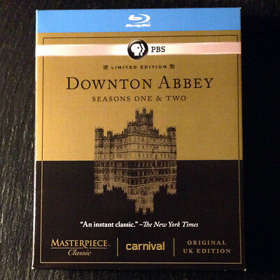 Downton Abbey Blu-ray Volume 1 / Season 1 & 2 Bluray TV BBC America Series PBS