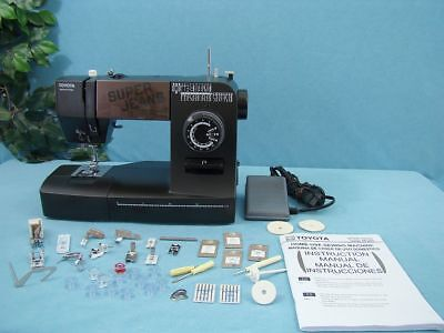 Toyota Industrial Sewing Machine, Sews Leather, Upholstery, Canvas, Webbing Etc