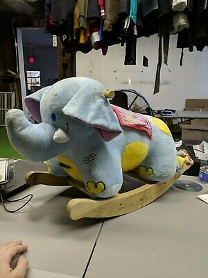 Rockabye Ride On Rocking Elephant
