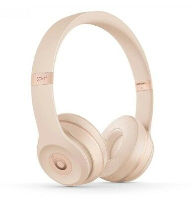 BRAND NEW, NEVER OPENED : Beats by Dre Solo3 Wireless Headphones - Matte Gold