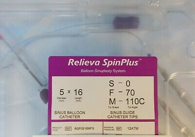 Relieva SpinPlus System 5x16mm # RSP0516MFS Spin Plus