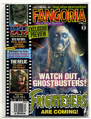 Fangoria #154 (1996, 84 pages, full colour) new condition