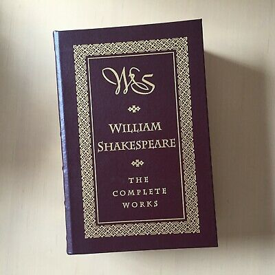 William Shakespeare, The Complete Works Leather Barnes & Noble 1994
